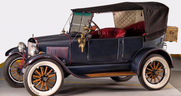 prevoz putnika oldtajmeri Ford T model 1924