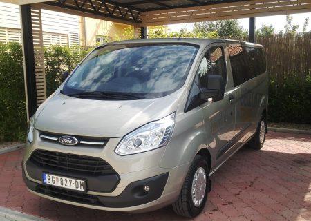 Beocontrol prevoz putnika Leskovac Ford Tourneo Custom