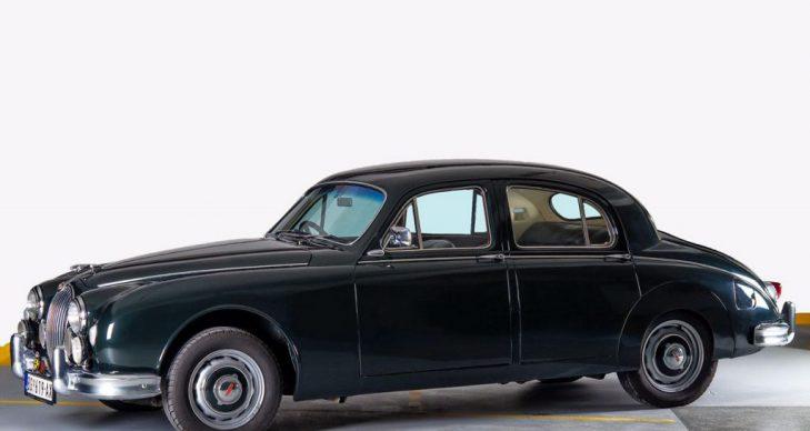 prevoz putnika oldtajmer Jaguar Mark 1 saloon 1959