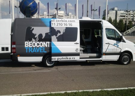 Beocontrol prevoz putnika Leskovac Mercedes 516 CDi