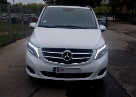 Beocontrol prevoz putnika Kocani Mercedes V klasa