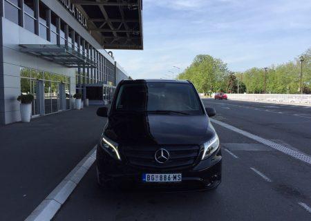 Beocontrol prevoz putnika Kragujevac Mercedes Vito