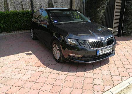 Beocontrol prevoz putnika Kragujevac Škoda Octavia 2018