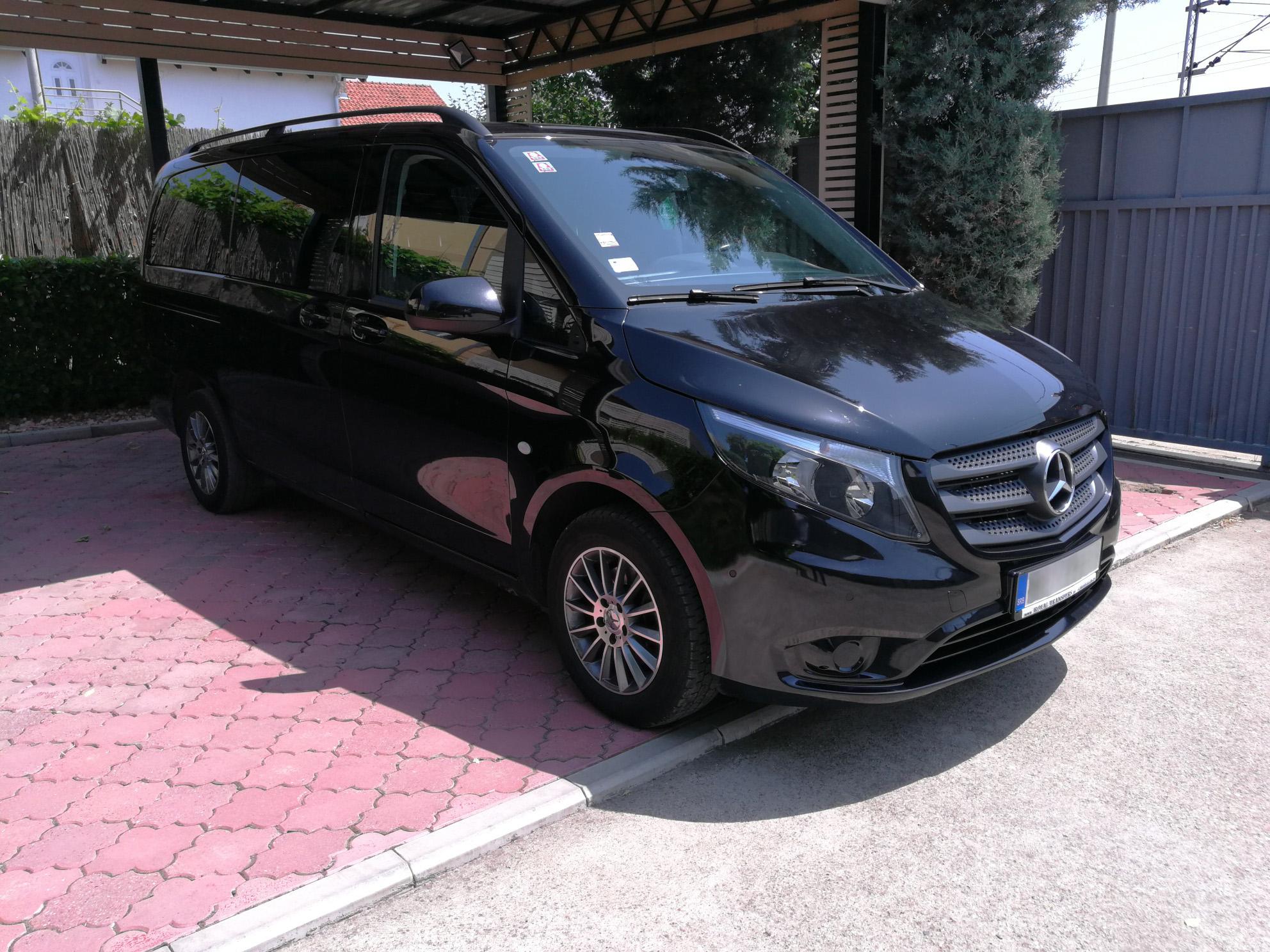 Prevoz putnika Beocontrol Mercedes Vito